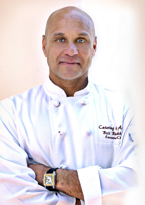 Photo of head chef and owner of Catering by Ashley, Bill Blackburn